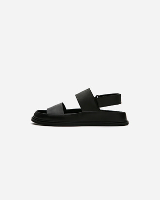 leather strap sandle